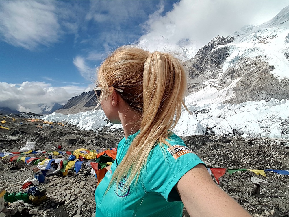 Laura Jones Mount Everest