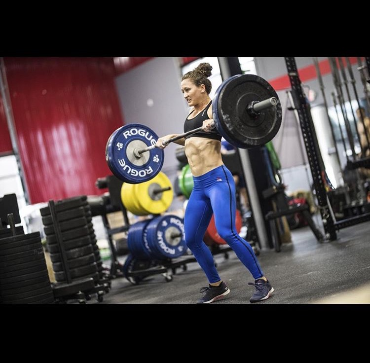 Tia-Clair Toomey: heavy lifting