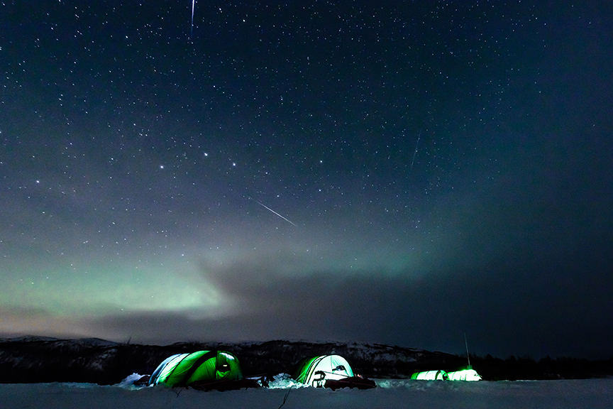 Lessons in Badassery Skiing Antarctica Coast-to-Coast Aurora Lights
