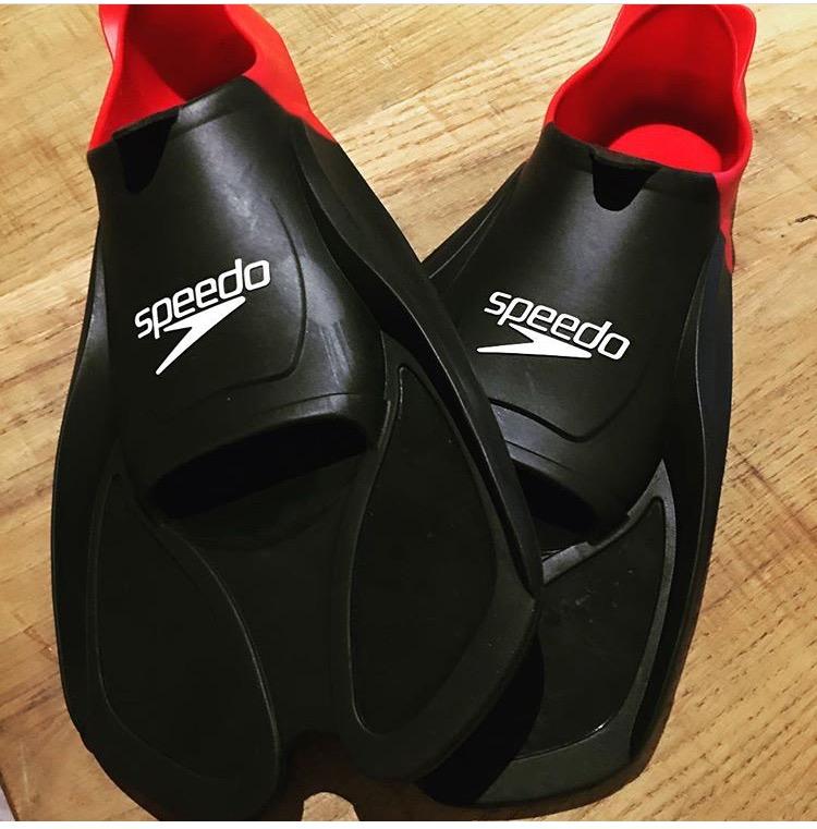 Speedo swimming equipment