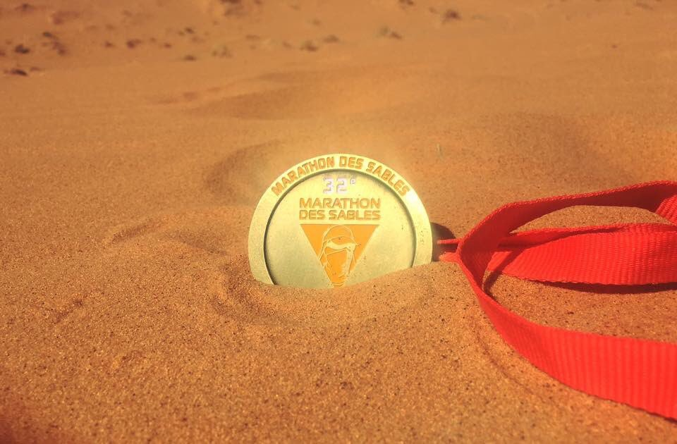 Lessons in Badassery Marathon des Sables finisher, Natalia Andreyeva gold medal