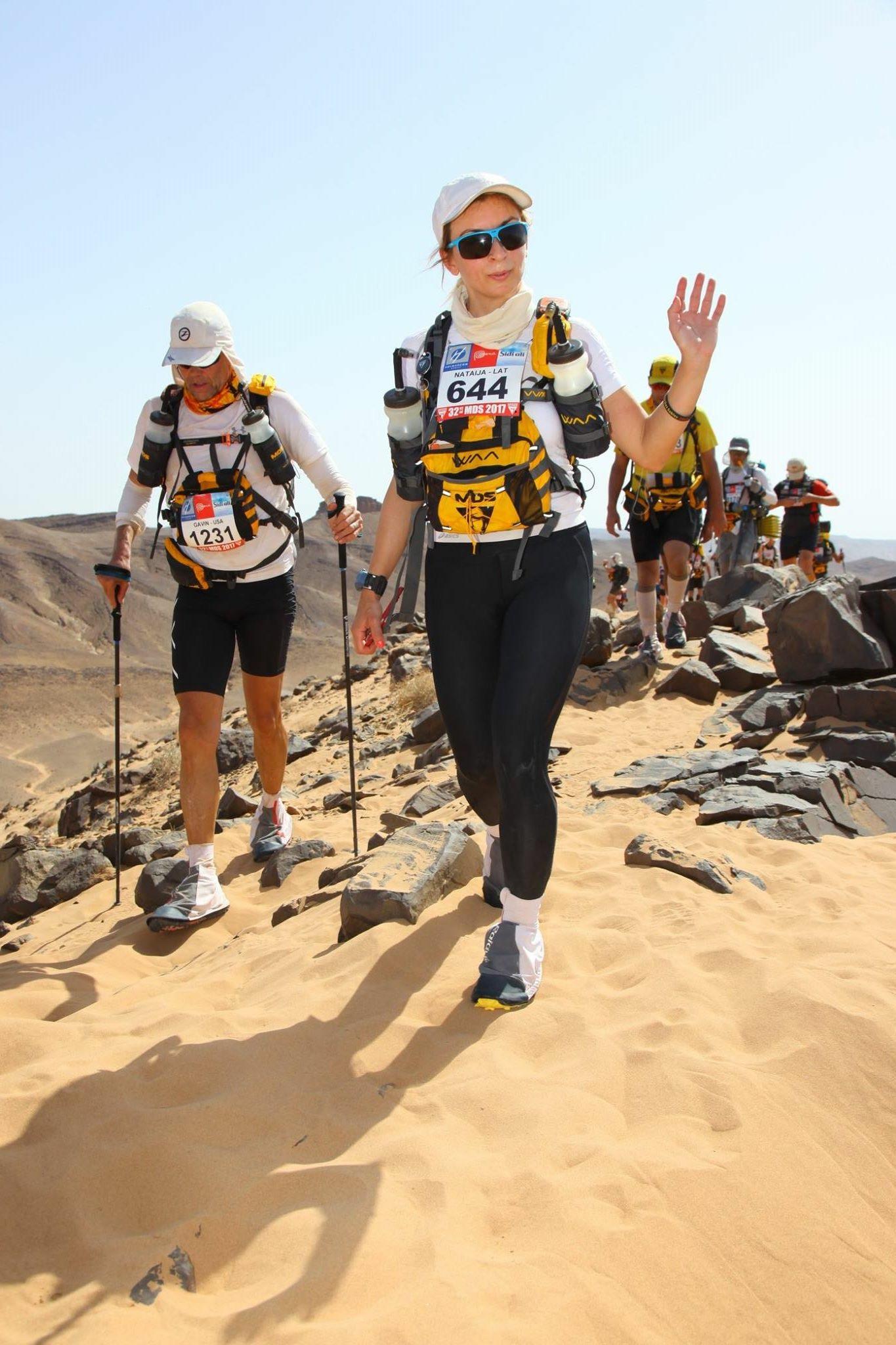 Lessons in Badassery Marathon des Sables finisher, Natalia Andreyeva