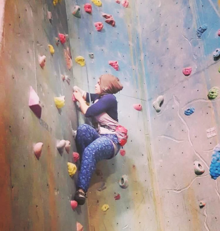 Lessons in Badassery - WHAT IT FEELS LIKE TO: Climb with an 'invisible' disability