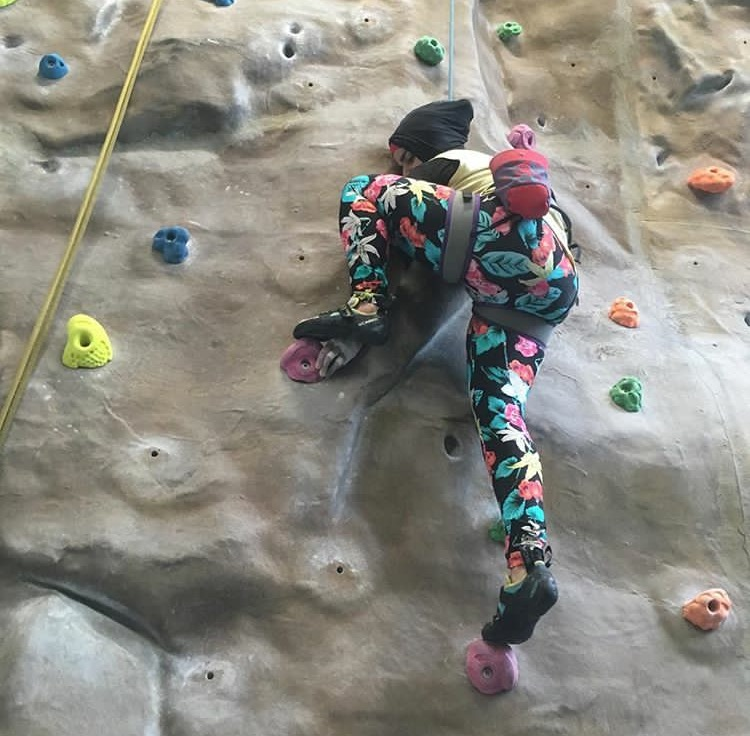 Lessons in Badassery - WHAT IT FEELS LIKE TO… Climb with an 'invisible' disability