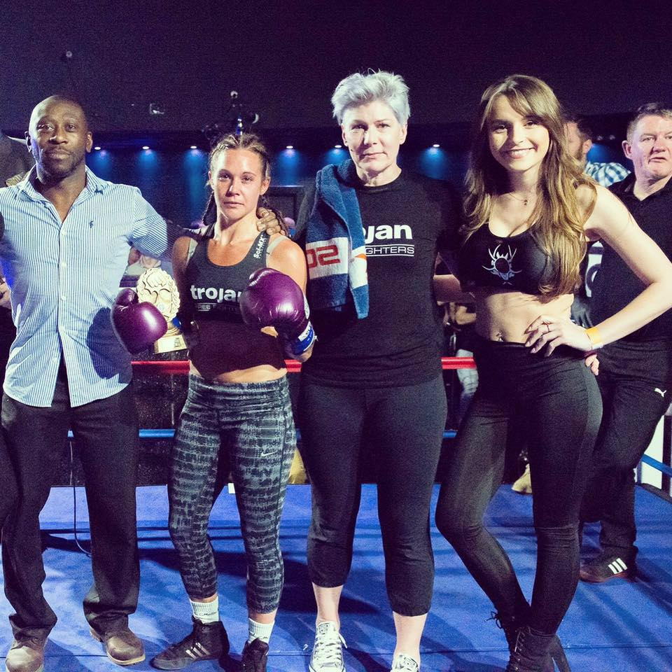 Lessons in Badassery Polly Beauchamp MMA Fighter