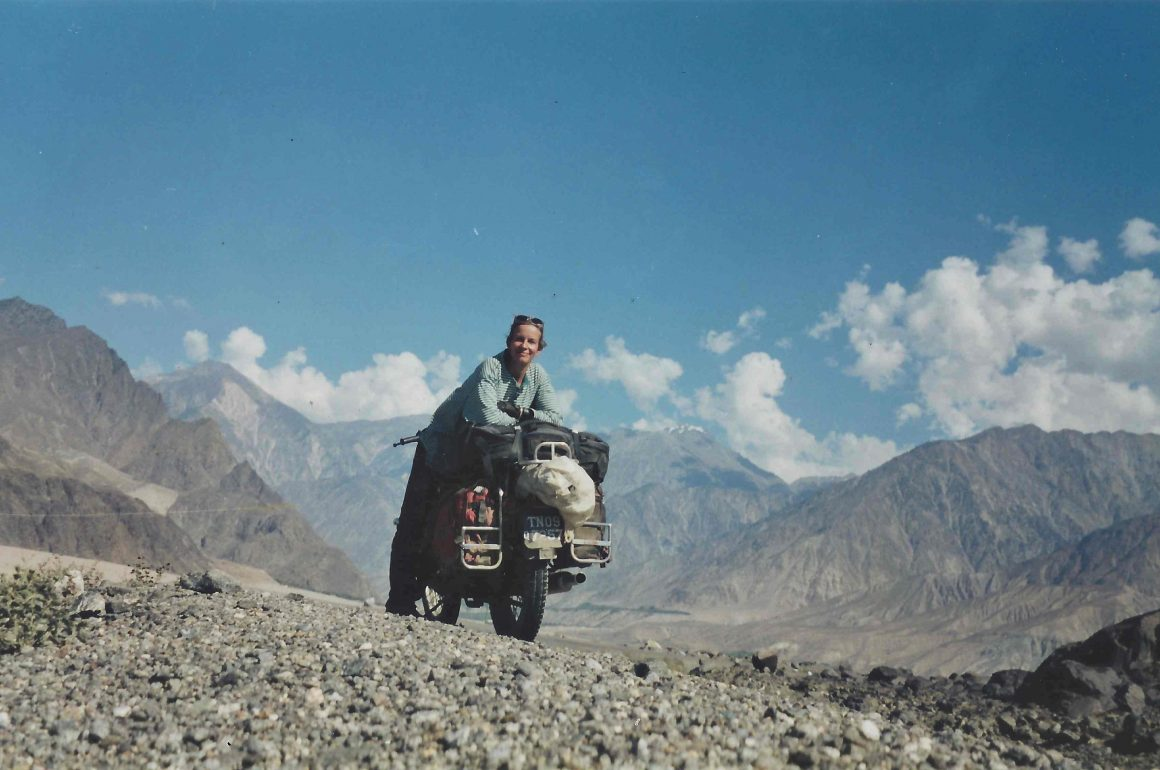 WHAT IT FEELS LIKE TO… Ride a motorbike solo across the world in your 50s