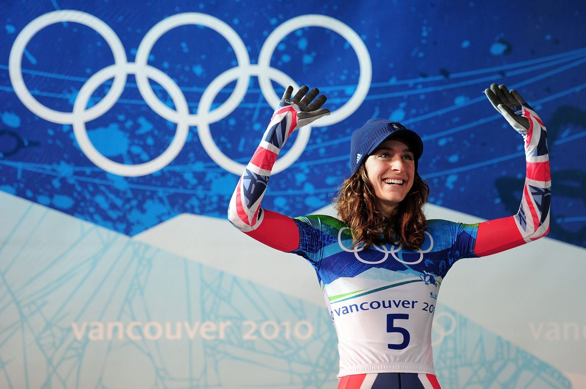 Amy Williams: Skeleton Gold + 100km bike rides
