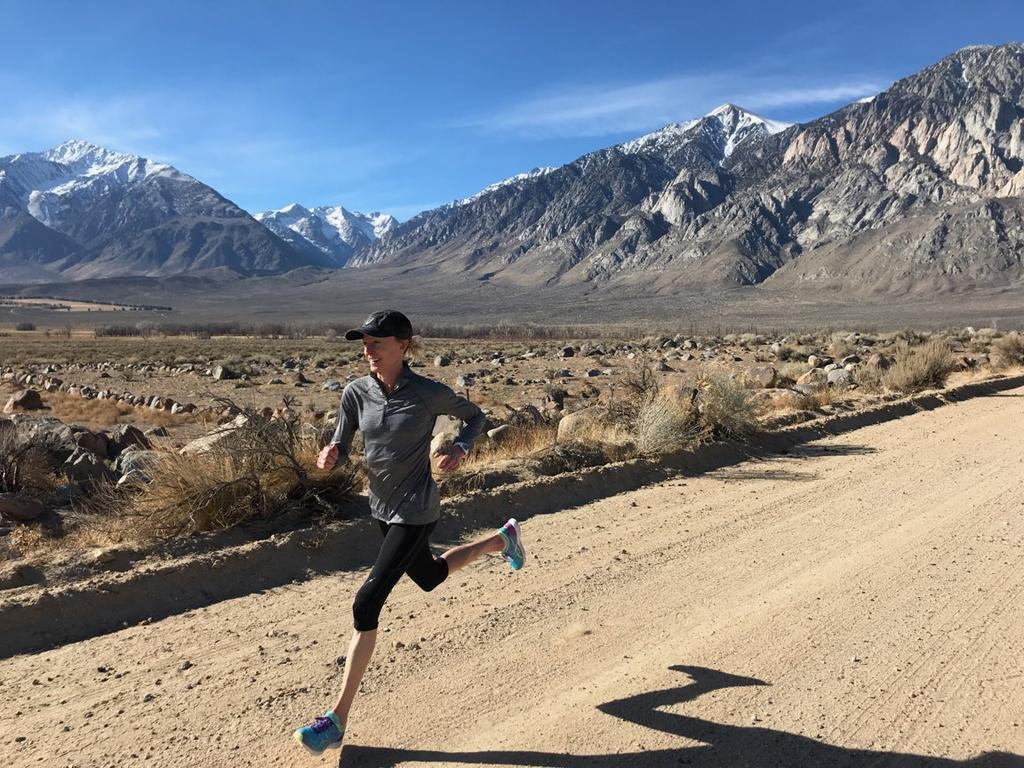 "Deena Kastor: ""Your mindset IS your approach to running"""