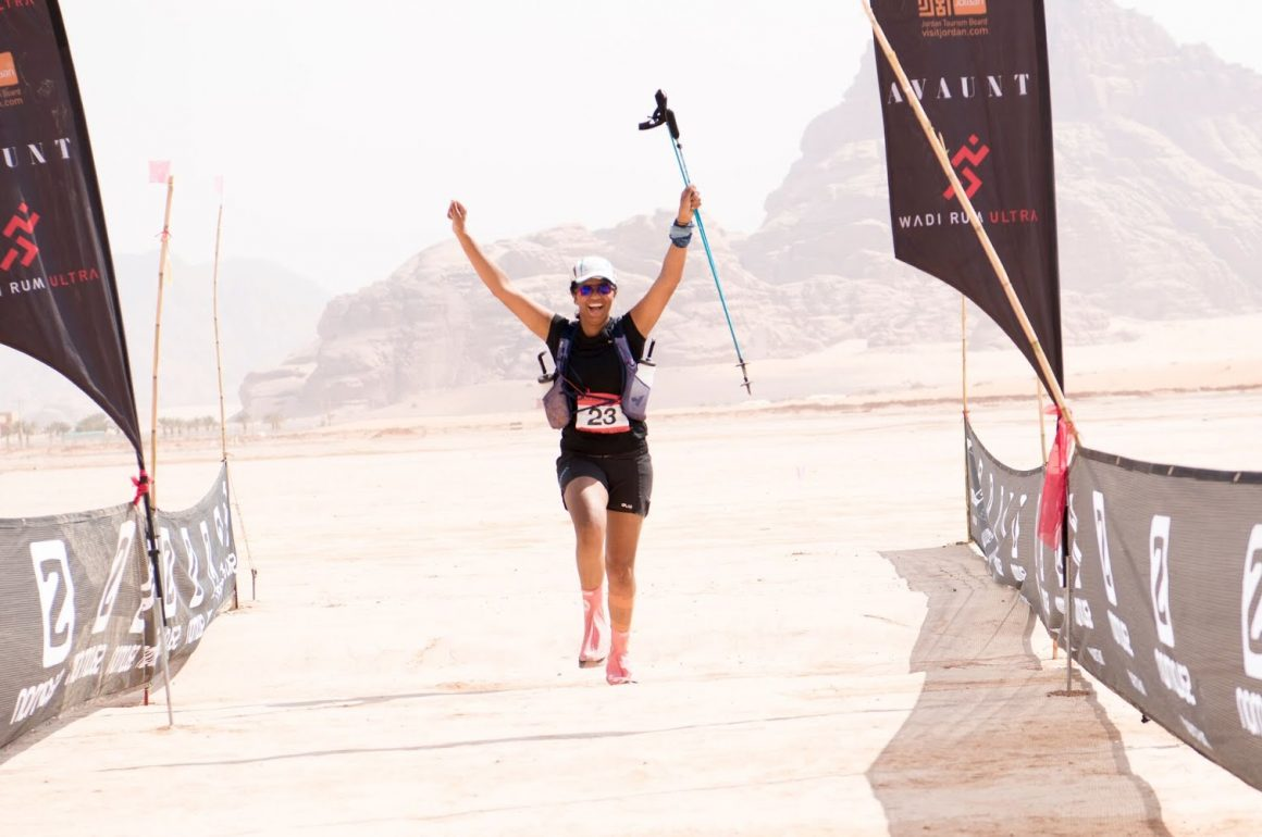 Mara Hafezi: Notes on the Wadi Rum Desert Ultra