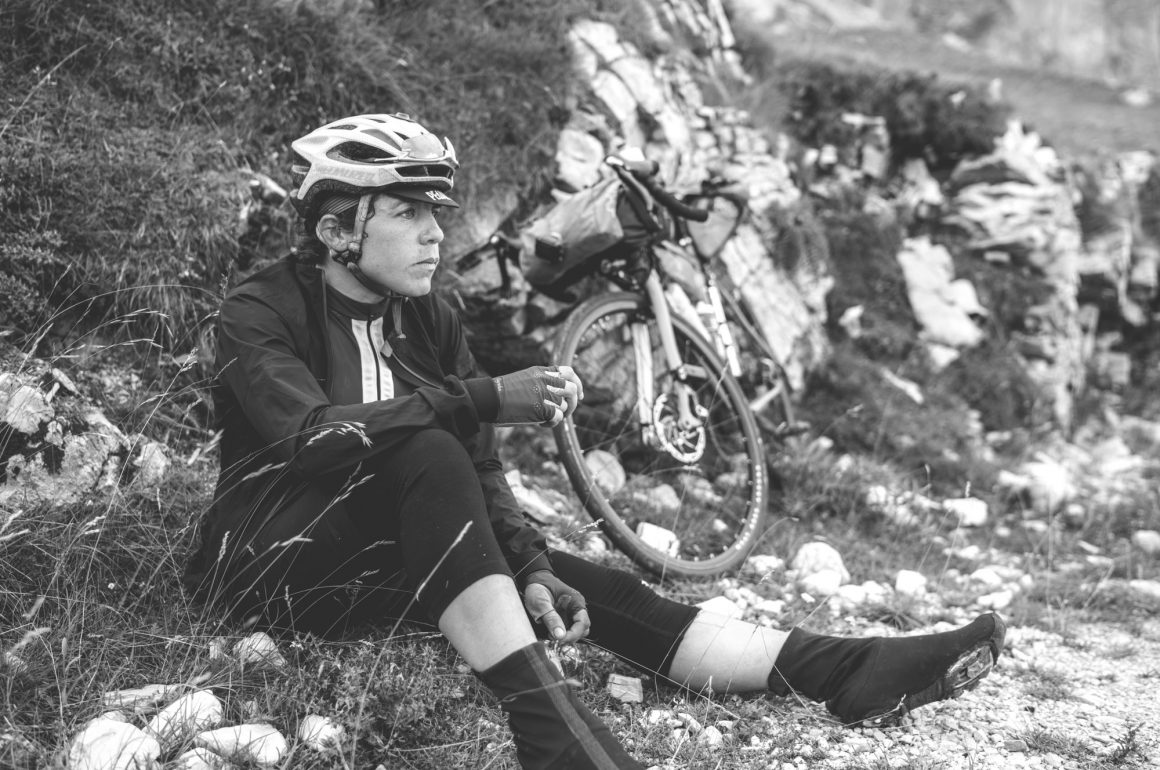 "Emily Chappell: ""The moment I stopped riding, the cold was so painful it was frightening"""