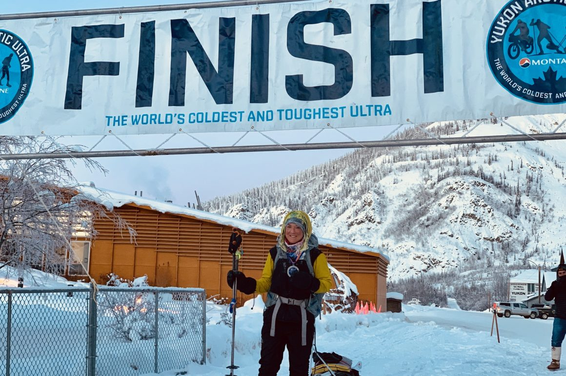 "Jessie Gladish: ""After 430-miles, no distance seemed far enough'"