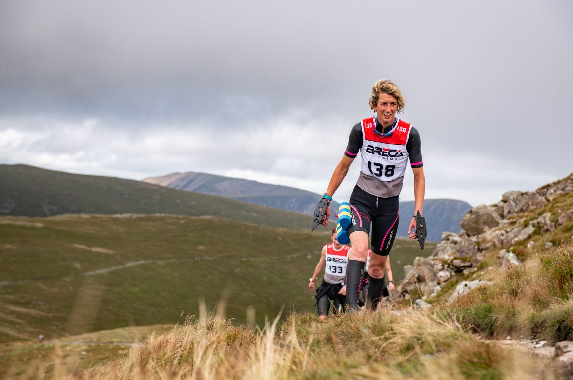 Julia Andersen: 'Some couples go out for romantic meals. We choose to swimrun'
