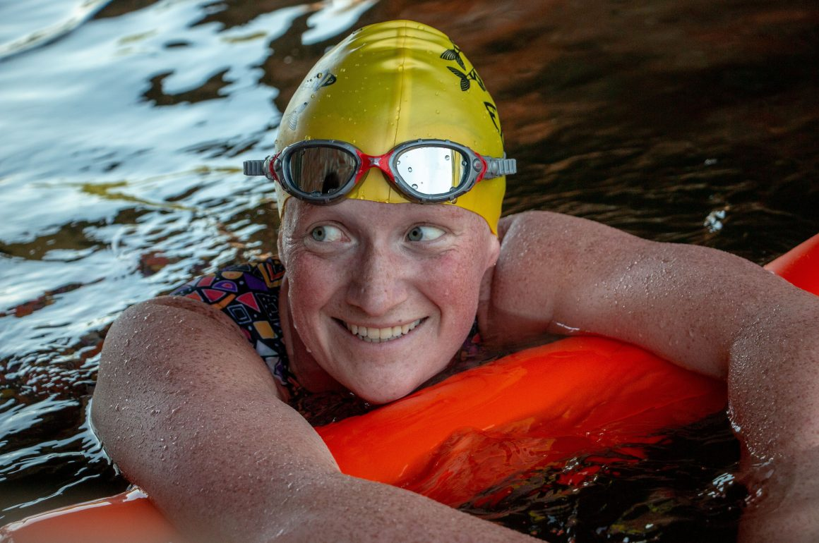 "Jo Jones: ""I achieved my English Channel swim dream at 24"""