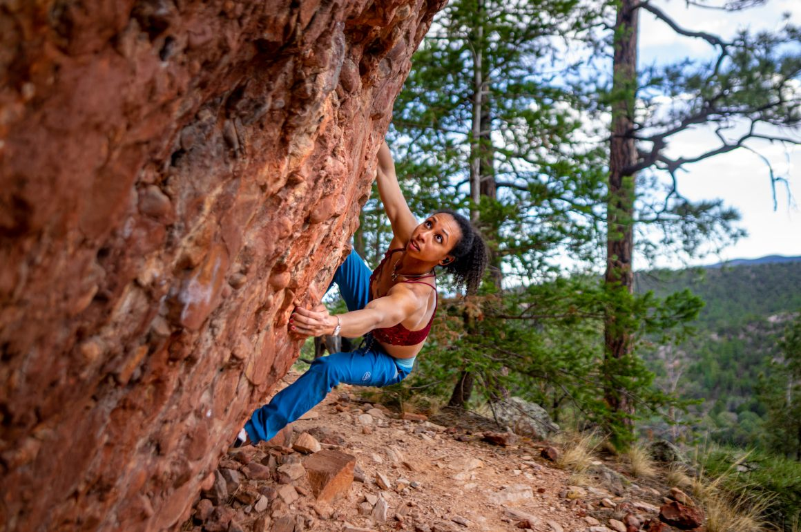 "Favia Dubyk: ""Climbing was my reason for living"""