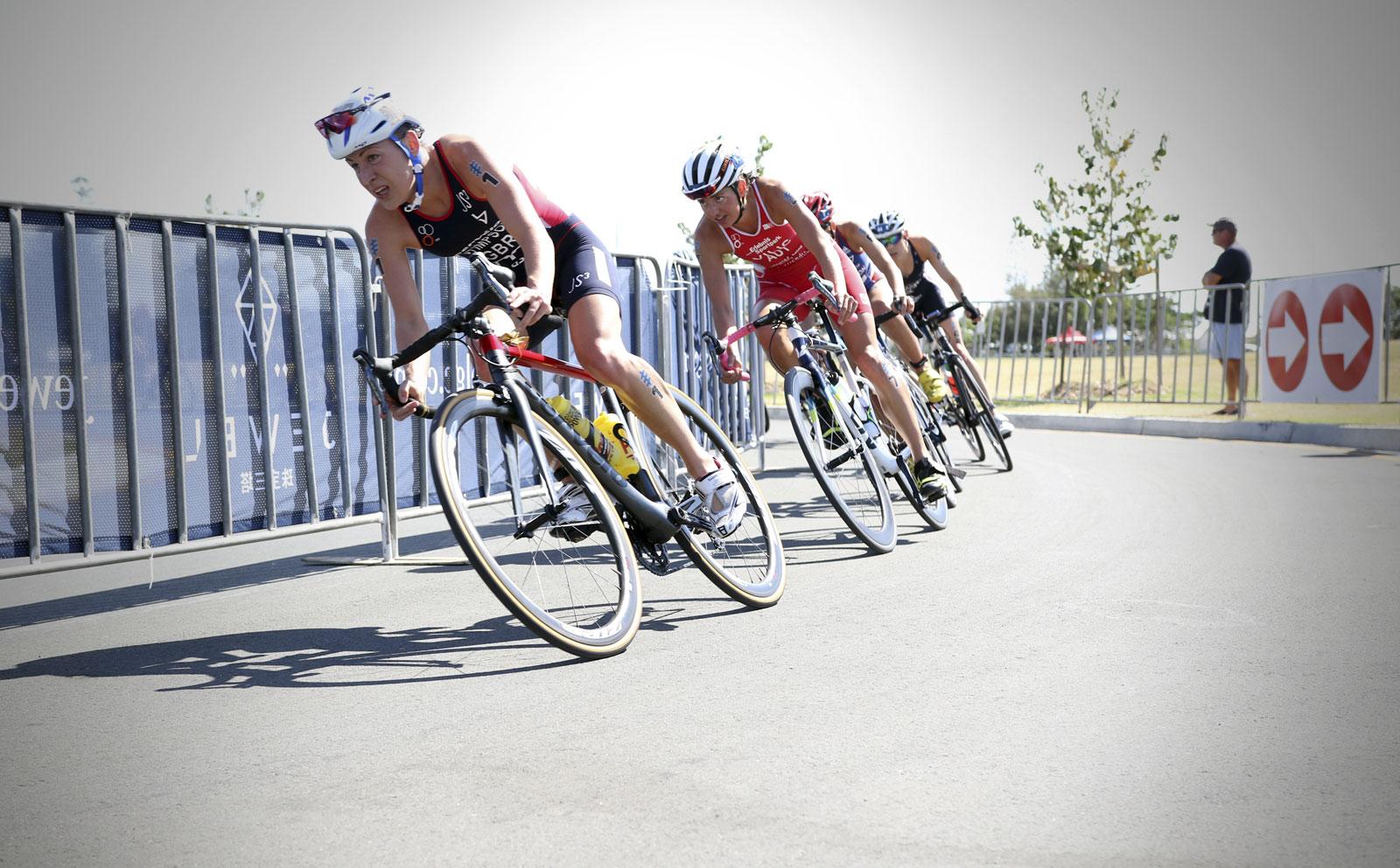 Lessons in badassery Jodie Stimpson: Chasing Triathlon Bikes