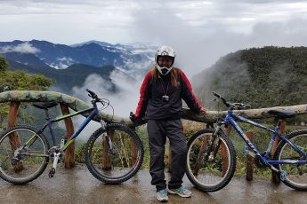 Lessons in Badassery - 'Death Road' in Bolivia bikes