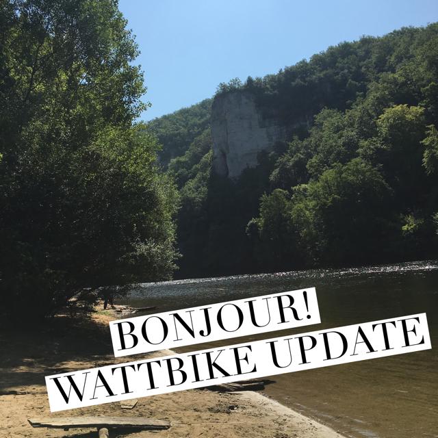 Lessons in Badassery Wattbike Update