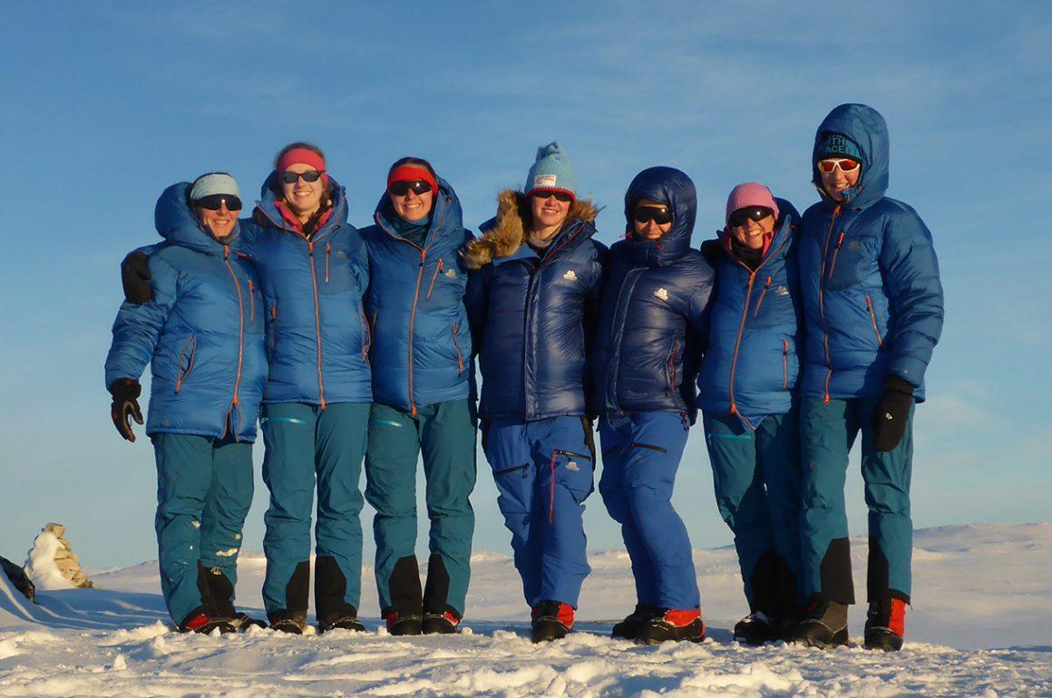 Exercise Ice Maiden: Skiing Antarctica Coast-to-Coast