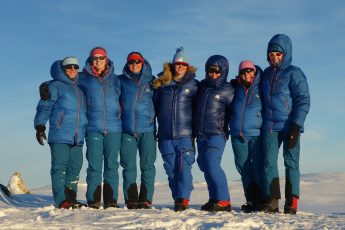 Exercise Ice Maiden: Skiing Antarctica Coast-to-Coast