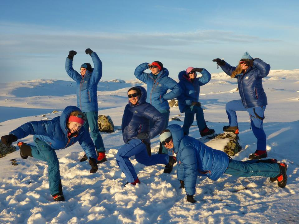 Lessons in Badassery: Skiing Antarctica Coast-to-Coast group picture