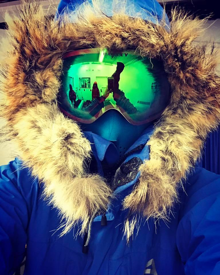 Lessons in Badassery Suit For Antarctica