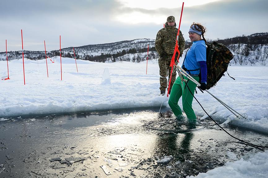 Lessons in Badassery Skiing Antarctica Coast-to-Coast Ice water