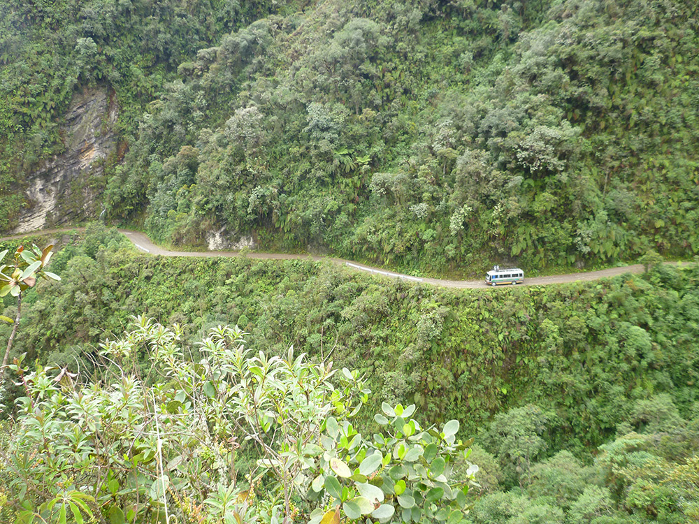 Lessons in Badassery - 'Death Road' Bolivia