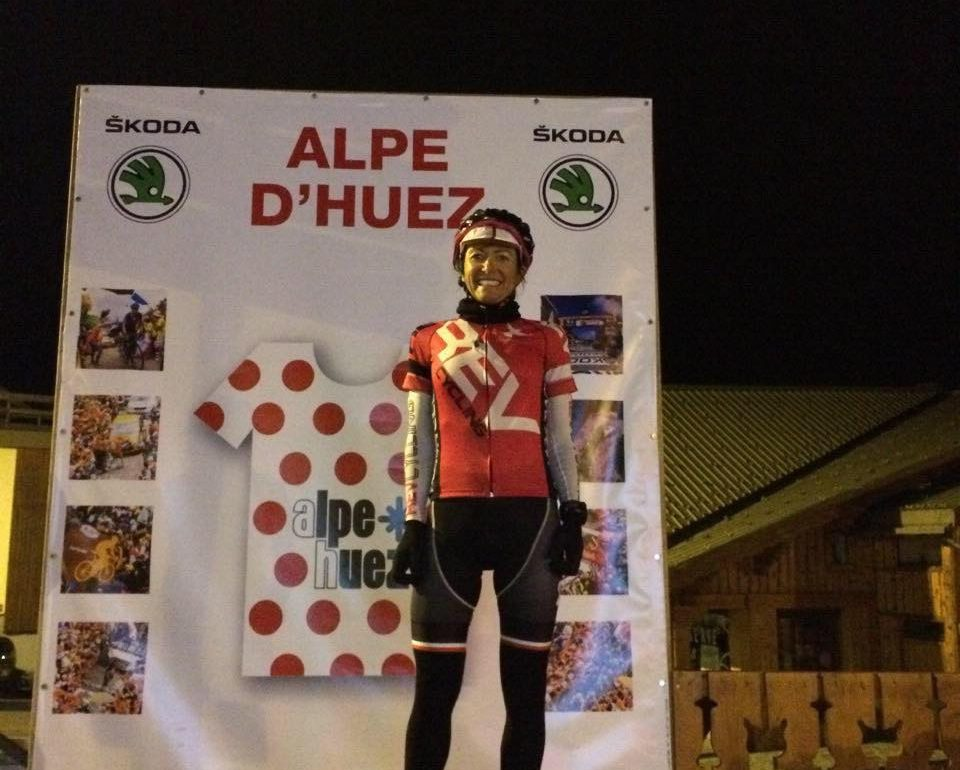 WHAT IT FEELS LIKE TO… Cycle up Alpe d'Huez 8 times in day