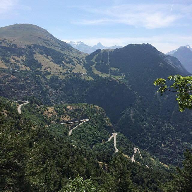Alpe d'Huez view