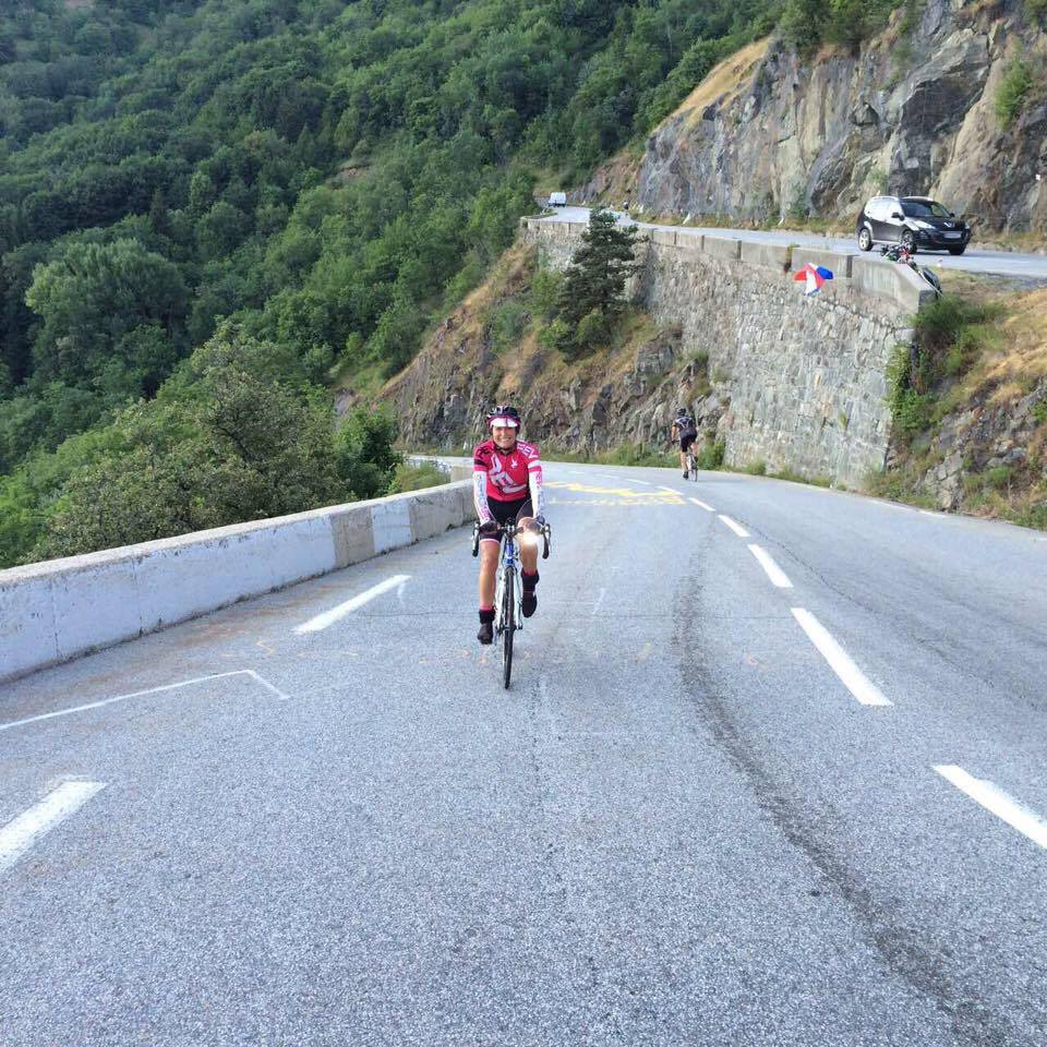 WHAT IT FEELS LIKE TO… Cycle up Alpe d'Huez 8 times in 1 day