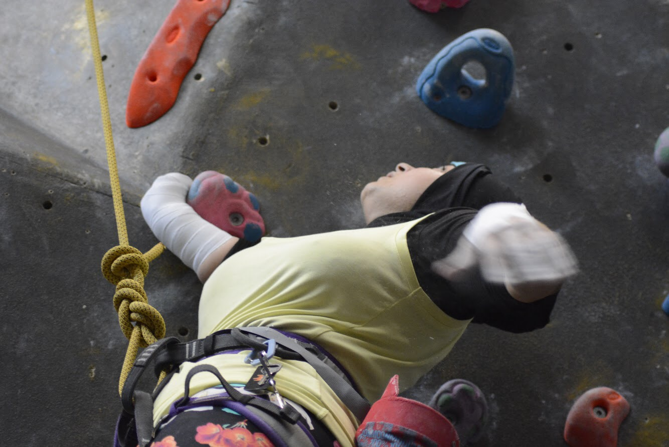 Lessons in Badassery: WHAT IT FEELS LIKE TO… Climb with an 'invisible' disability
