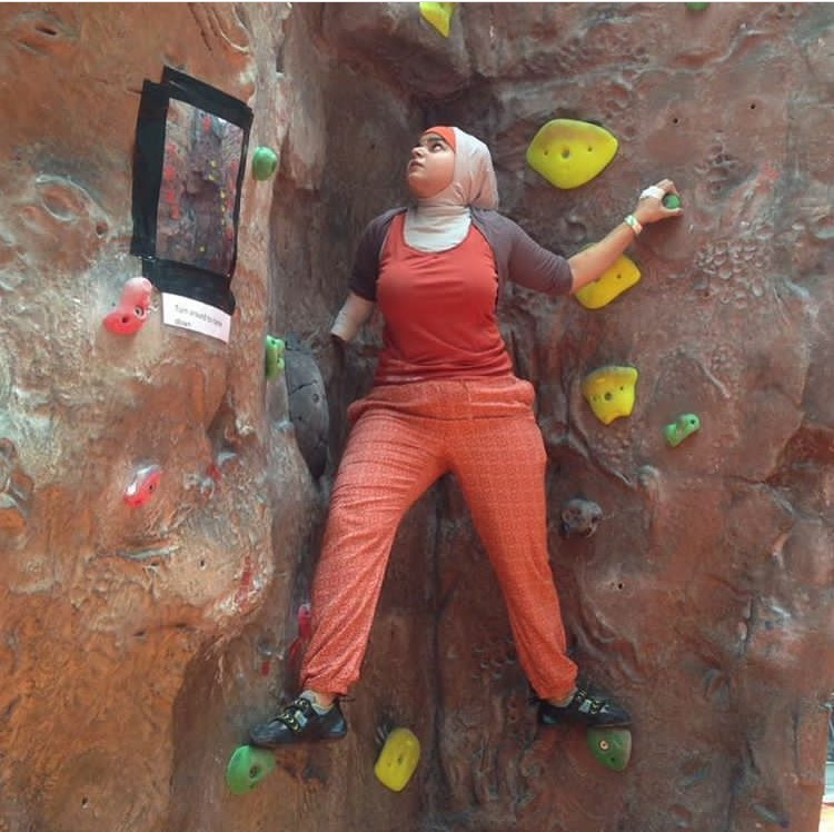 Lessons in Badassery - WHAT IT FEELS LIKE TO Climb with an 'invisible' disability