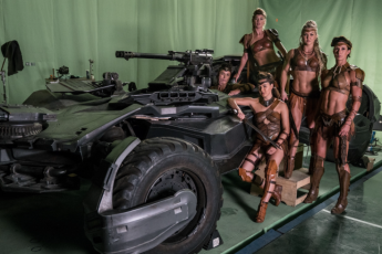 Helen Mayhew: Training the Justice League Amazons