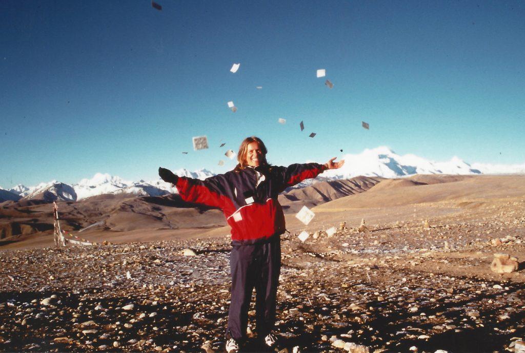 Lauri in Tibet, 1993