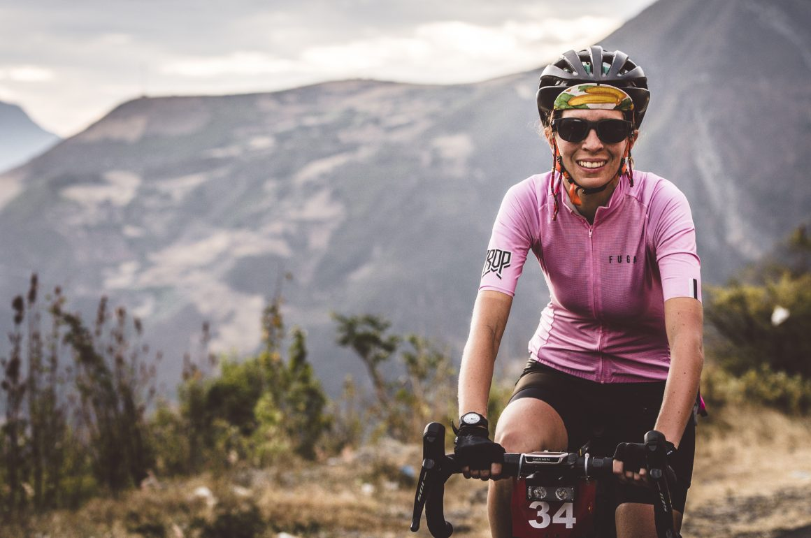 Victoria de Sá: The only female finisher of BikingMan Inca