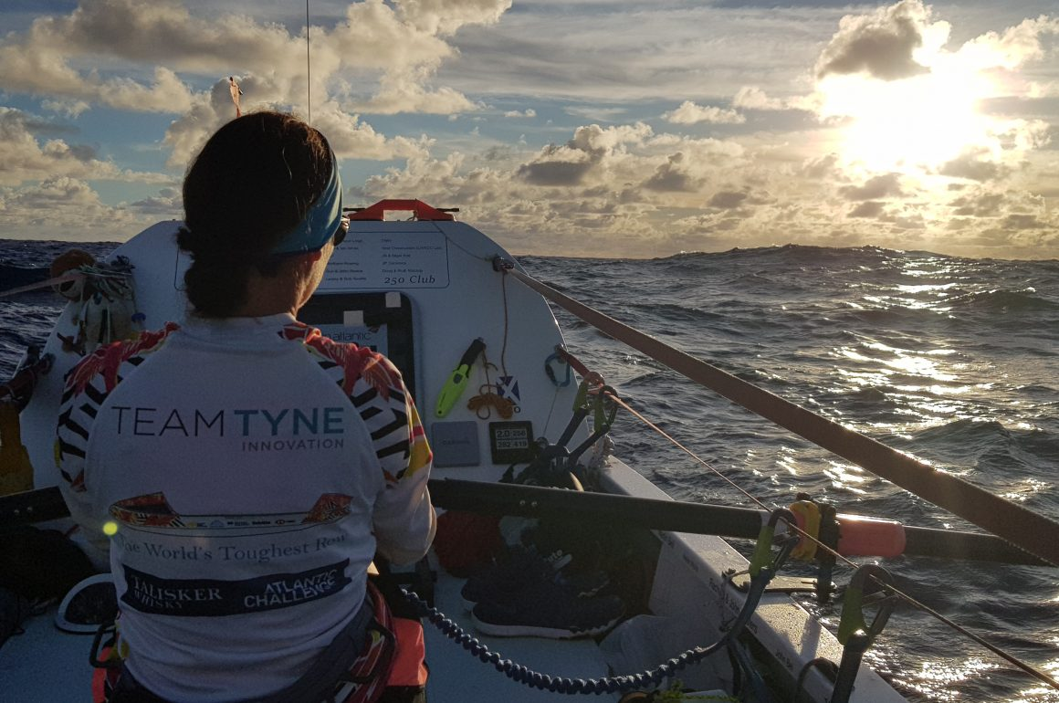 Claire Hughes: World-first Northwest Passage row attempt