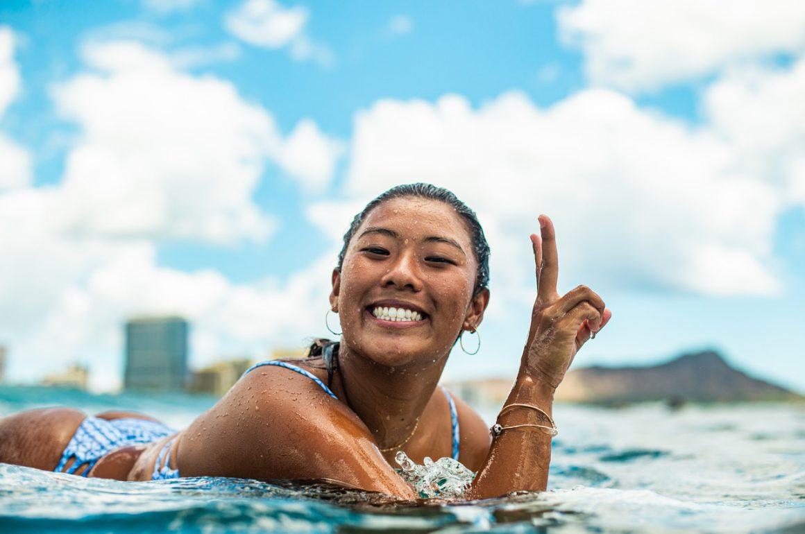 10 QUESTIONS FOR… Pro Surfer Mahina Maeda