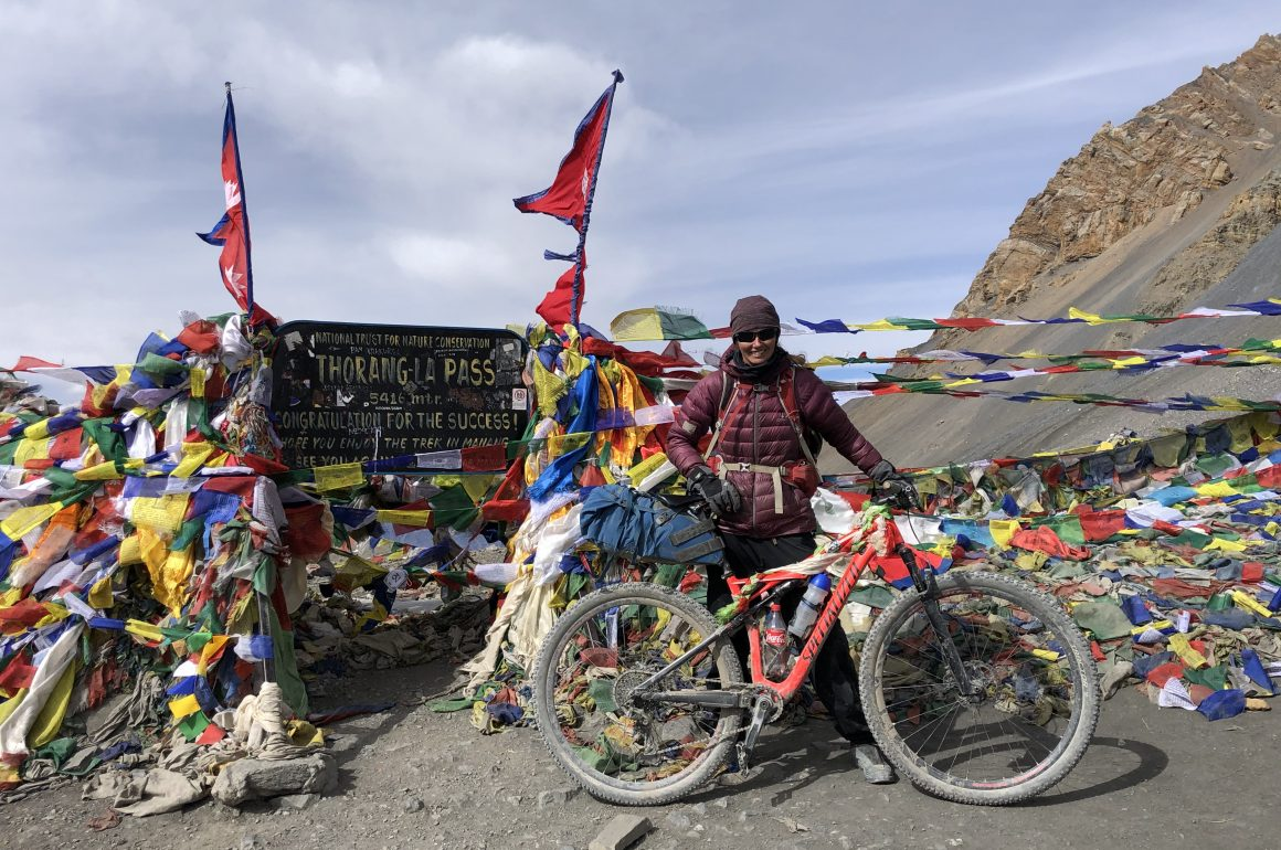 Nienke Oostra: World First MTB of Nepal's High Route traverse