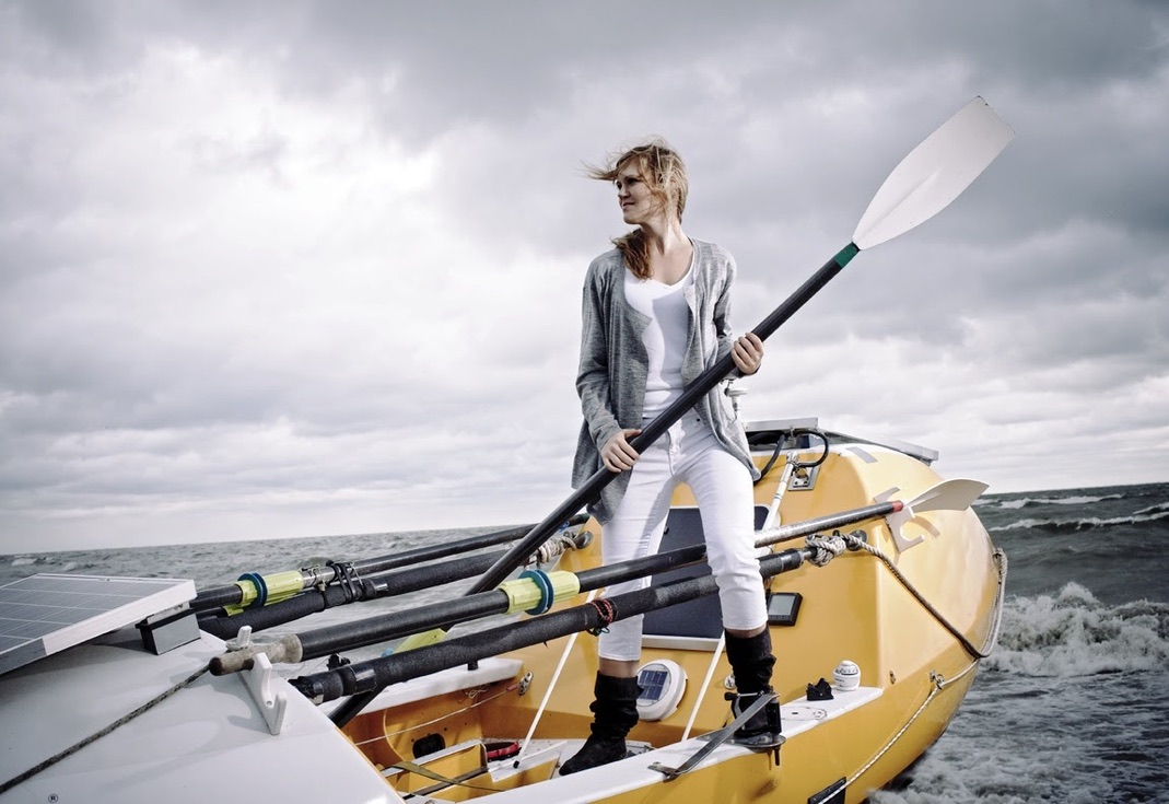 Katie Spotz: Running, rowing and riding for clean water