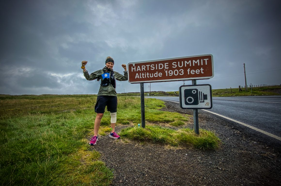 Vicky Hogg: Running 30 miles a day for 30 days