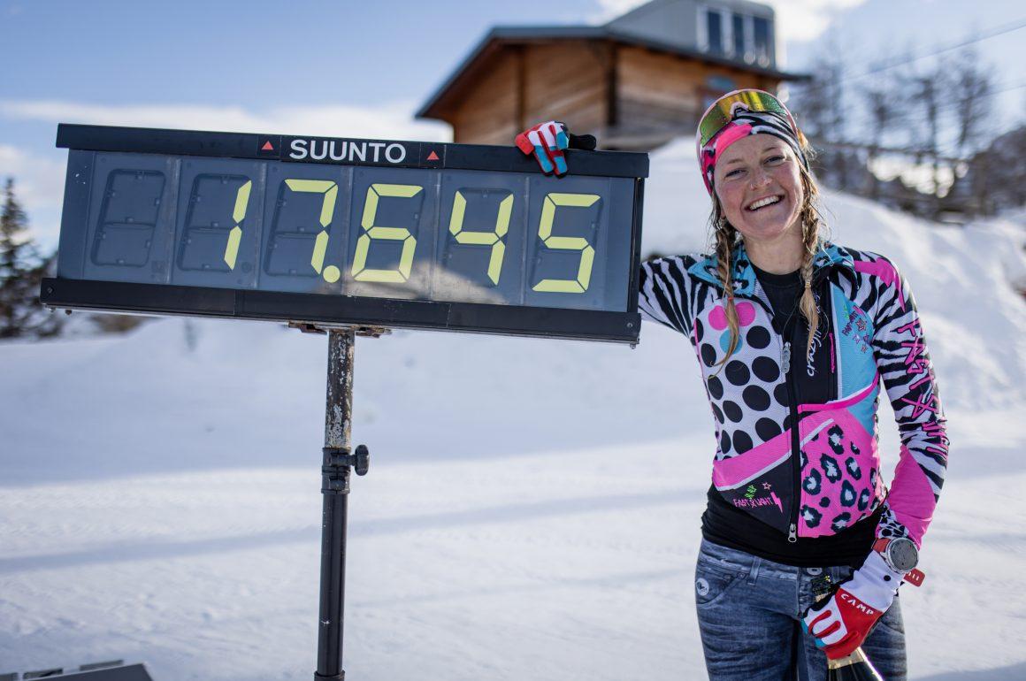 Martina Valmassoi: 24-hour Uphill Ski World Record Holder