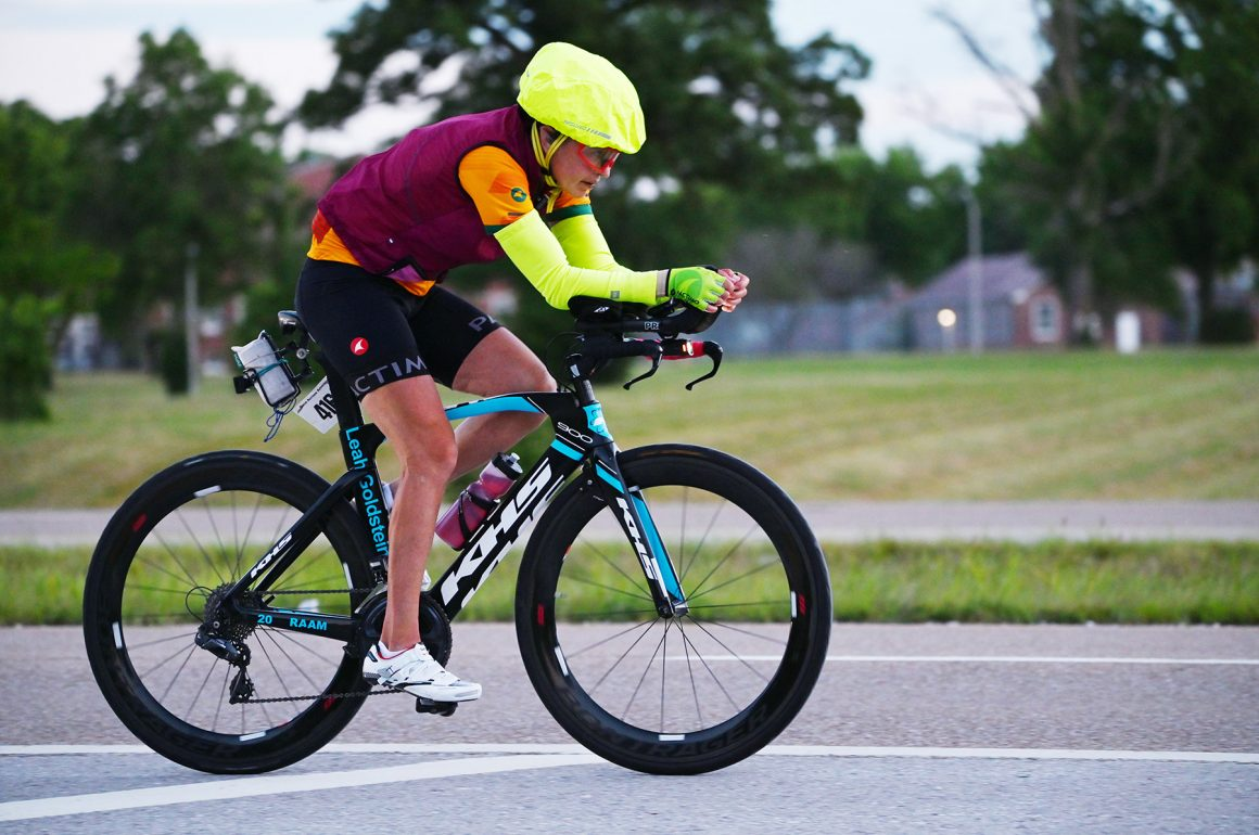 The unstoppable Leah Goldstein: Race Across America (RAAM) Winner