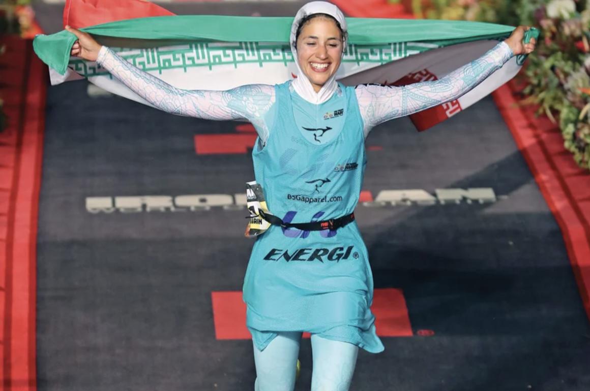 Shirin Gerami: Boundary-breaking triathlete